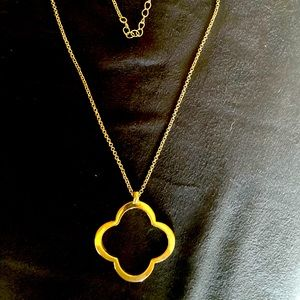 Women's Goldtone necklace